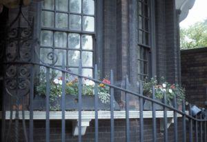 flowery railing, Chelsea