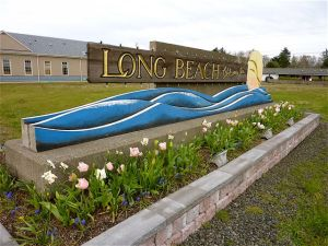LB welcome sign