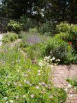 west garden summer