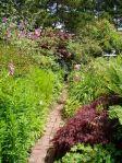 east garden, summer