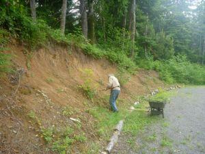 Casa Pacifica hillside project