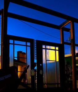 arbour gates by night