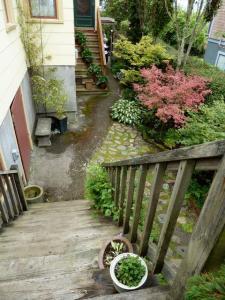 stairs from bridge