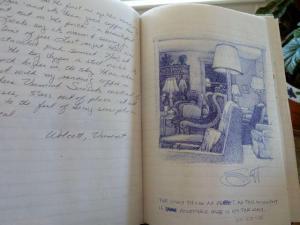 Emily Dickinson room journal