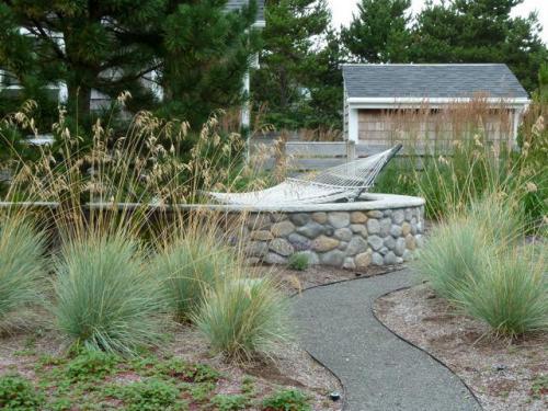 detail, Clarke garden