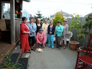 garden club friends