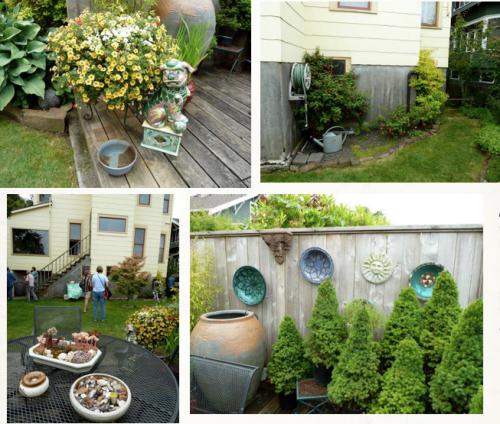 back garden details