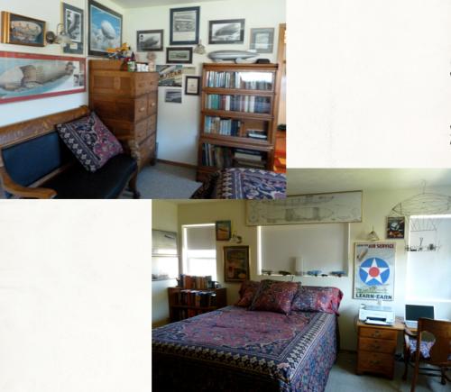 the zeppelin bedroom