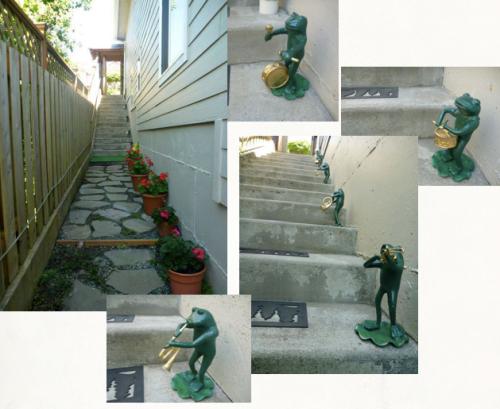 frog stairway