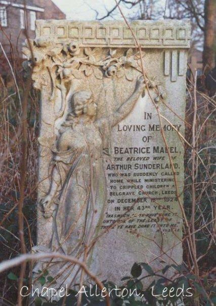 in a Chapel Allerton cemetery