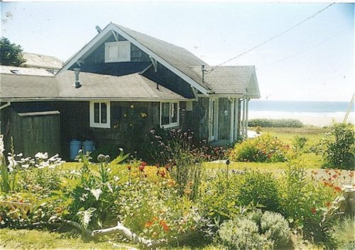 a Cannon Beach garden