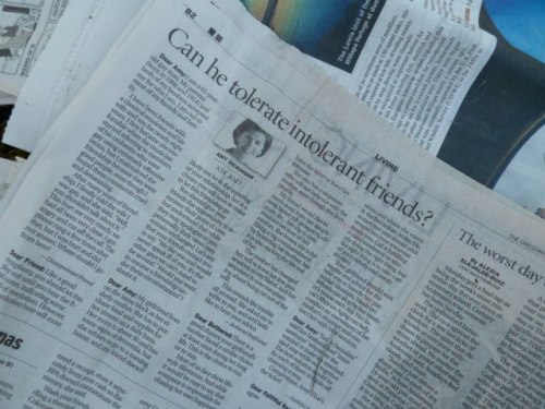 It is difficult to not stop and read every interesting article while laying the newspaper down.
