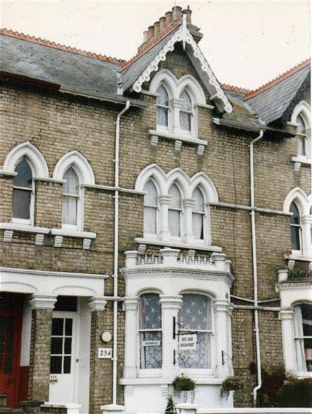 Mrs. B. Strange's guest house