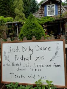 Belly Dance sign