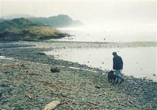 Bertie and Robert in Oregon