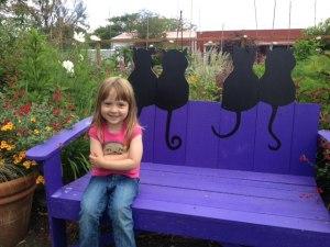 """Elly, bestower of """"Bestest Garden Ever"""" award"""