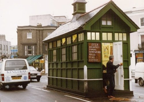 taxi rank café, Portobello