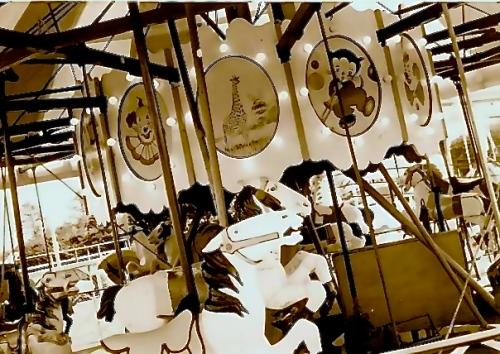 downtown Long Beach carousel
