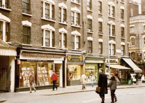 Charing Cross bookshops!