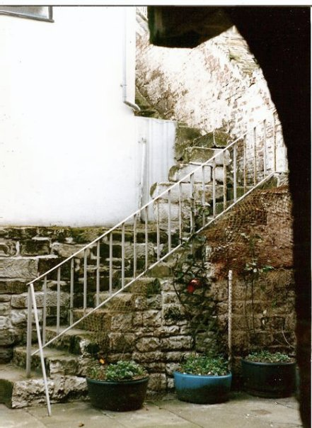courtyard stairs