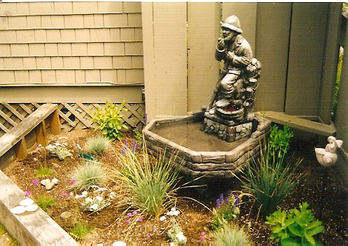 Don's courtyard corner
