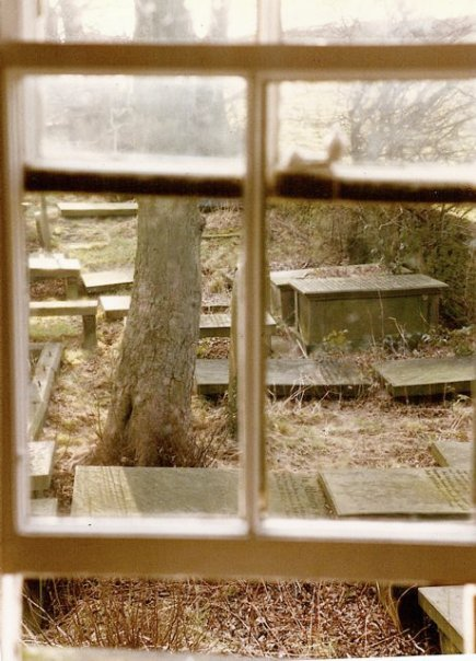 view from inside the Parsonage