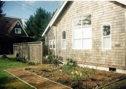 Glennie's front garden