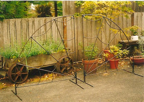 gates destined for Gypsy Cottage