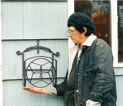 Robert with a hosehanger at KBC.