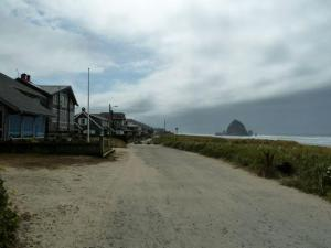 the view south toward Haystack Rock