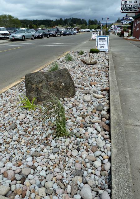 Harbor Lights Motel gardenby Peninsula Landscape Supply