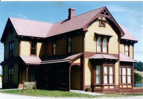 Hughes House, 1898, near Cape Blanco