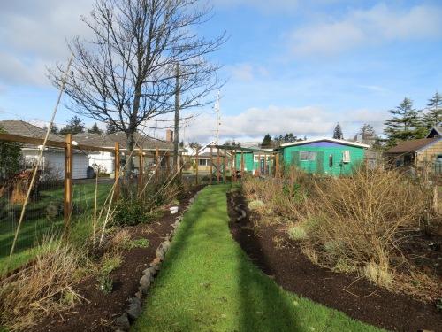 garden widened on both sides