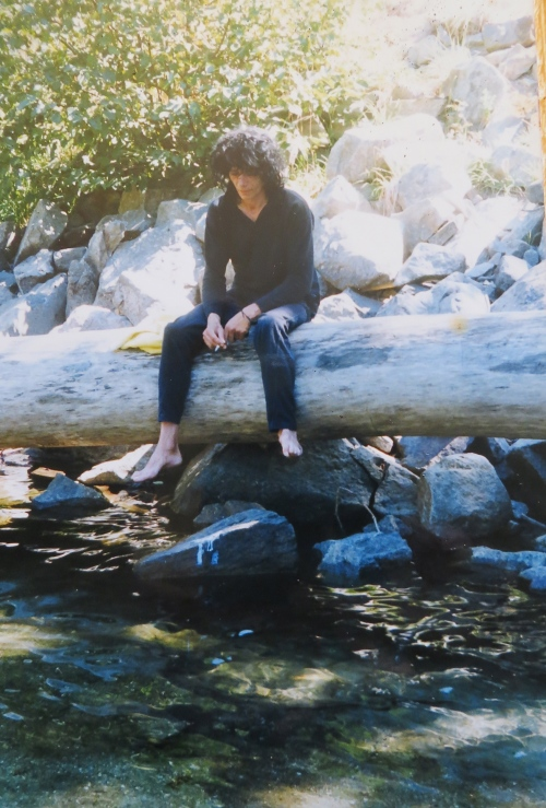 listening to the river rocks
