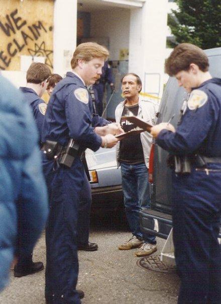 Jo Jo being arrested