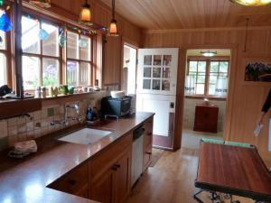 kitchen and back door