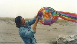 Robert's beach kite