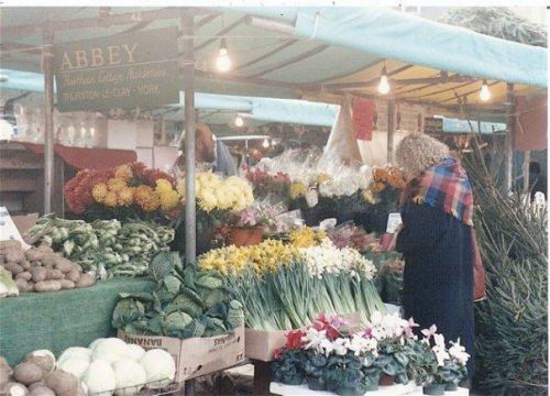a York market