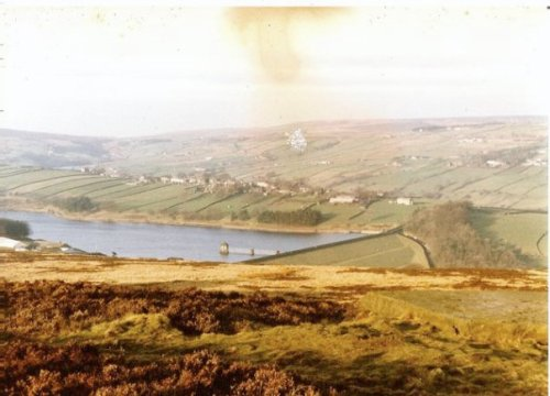 Bronte Moors (photo was damaged from age when I scanned it in 2010)