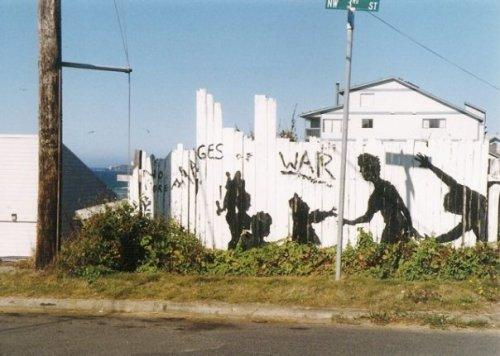 mural across the stree