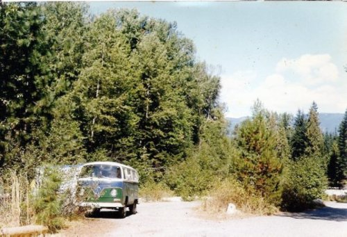 the old Nason Creek Campground