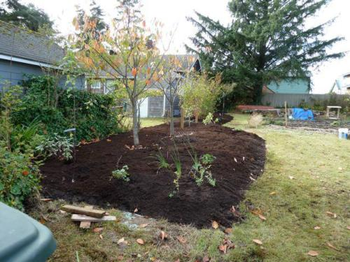 all mulched