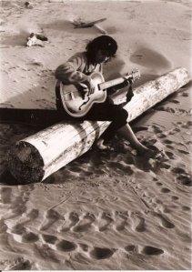 Robert on the beach