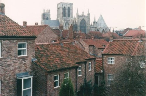 rooflines of York