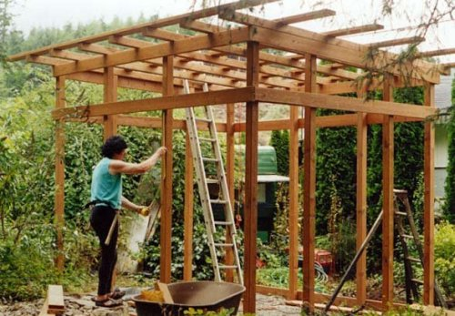 building the shed