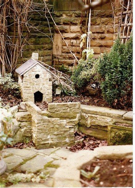 a garden tableau in Skipton