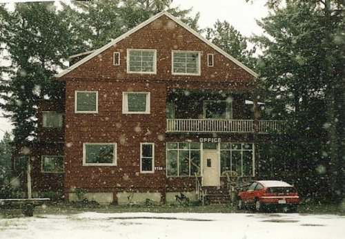 Sou'wester in snow, Dec. '92