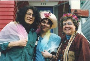 Robert, me, and Dee Dee