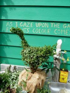 Sarah's topiary