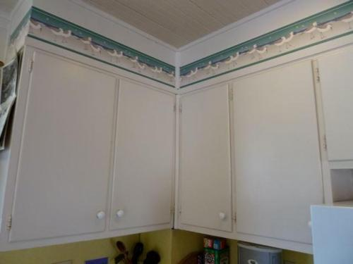 sandpiper kitchen cupboard trim